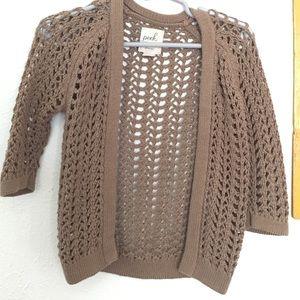 Peek Crochet Cardigan